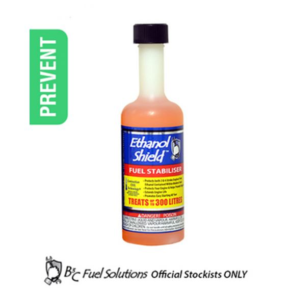 B3C Ethanol Shield (Fuel Stabiliser) - 236ml. Treats up to 300ltrs