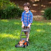 Husqvarna Children's Battery Operated Toy Lawnmower